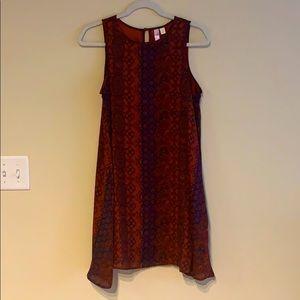 Francesca's Dark Paisley mini Dress